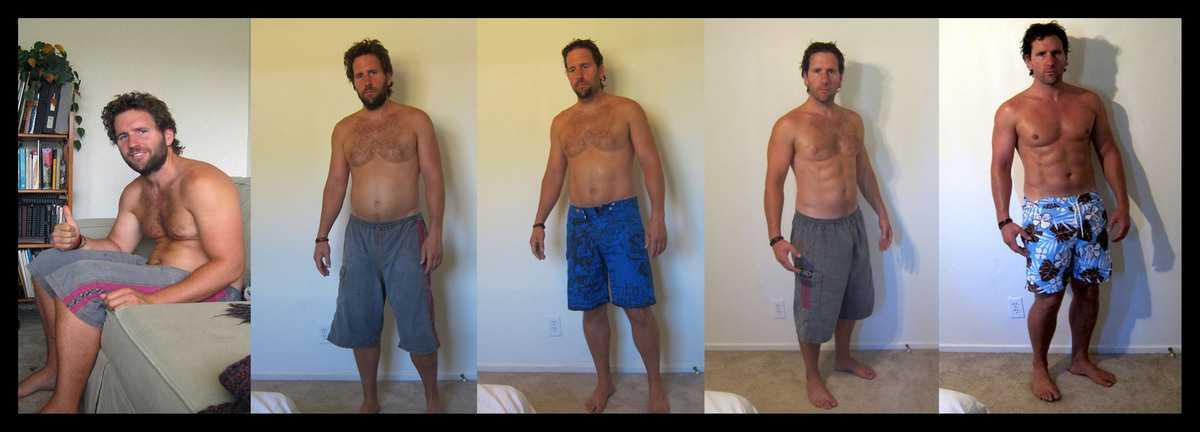 8 фото «до и после», как круто спорт меняет тело всего за несколько месяцев: мотивация с фактами
