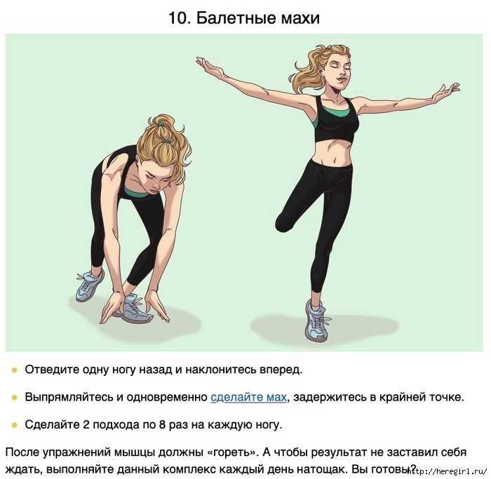 Балетные тренировки с трейси маллет: the booty barre