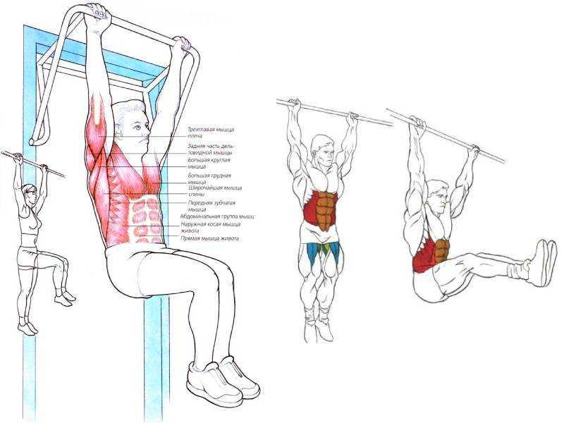 Подъем ног лежа на спине - 5 вариантов выполнения