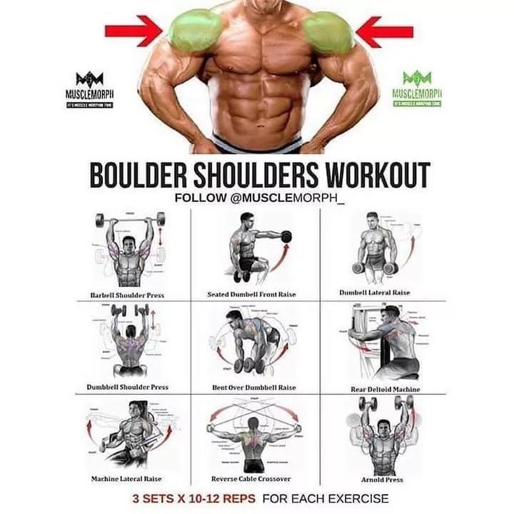 Упражнения для плеч, способы повышения эффективности занятий