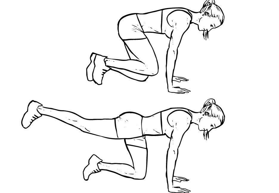 Какие упражнения для бедер и ягодиц в домашних условиях самые эффективные