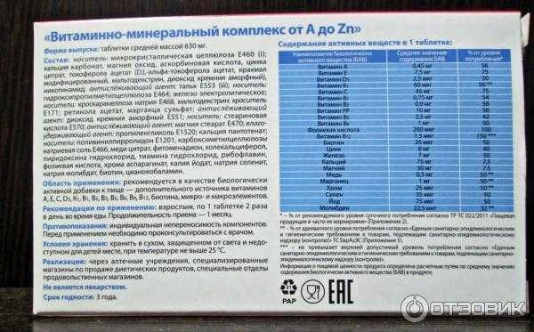 Топ-15 лучших комплексных витаминов – рейтинг 2020 года
