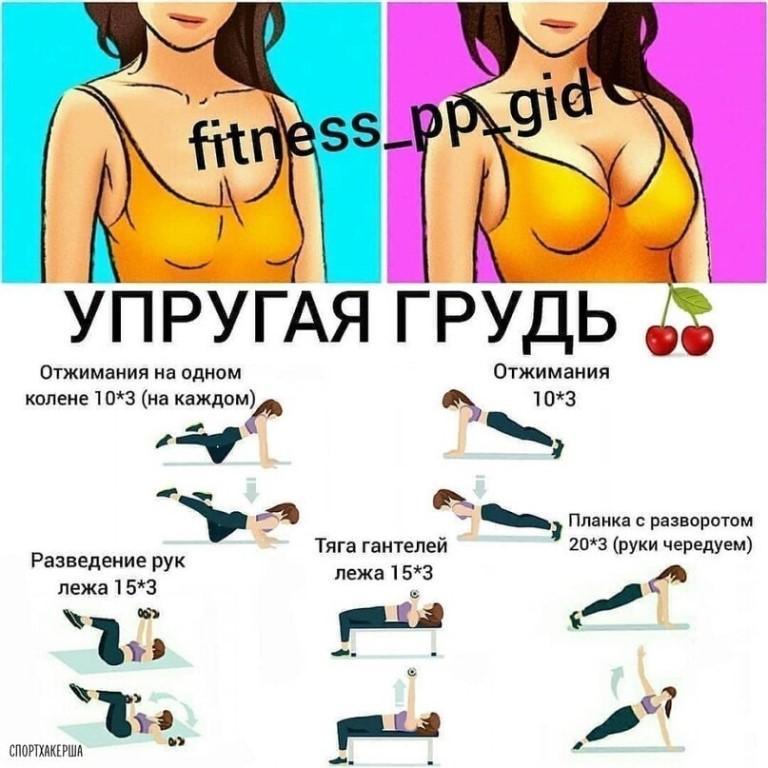 Топ-10 упражнений для мышц груди с гантелями (ФОТО)