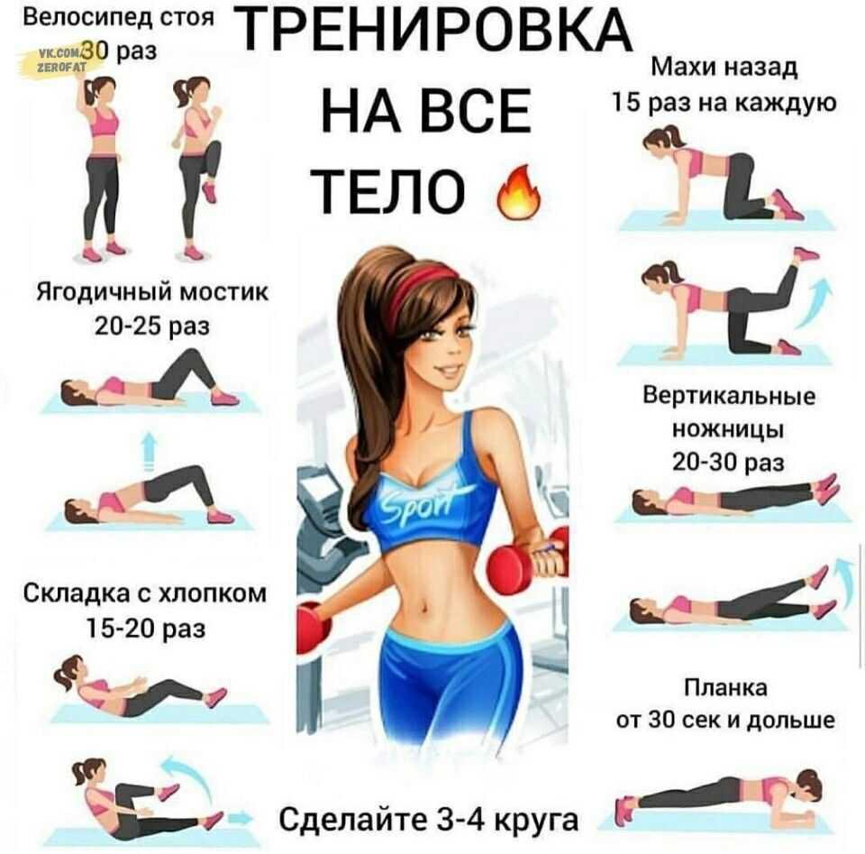Аэробика дома – жиросжигающие упражнения для начинающих