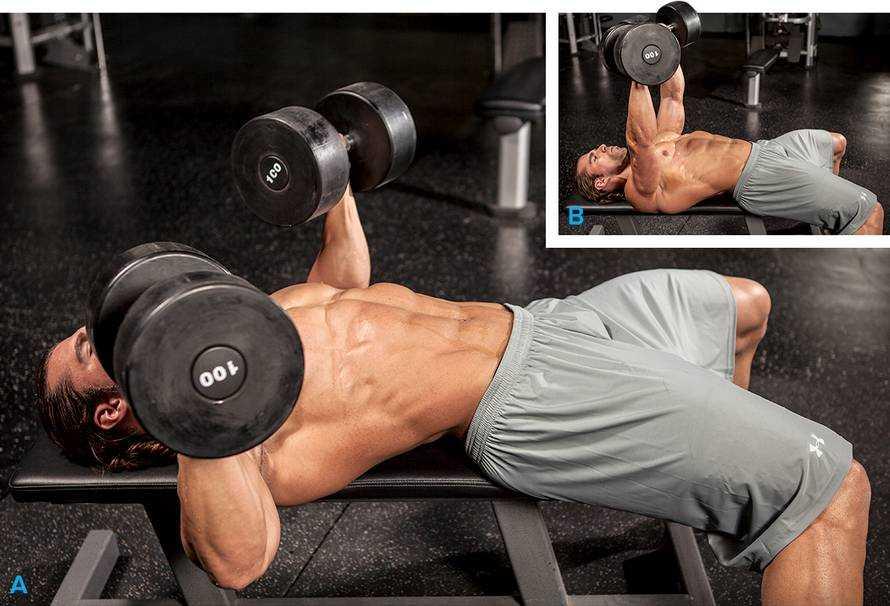 Жим Свенда — забытое упражнение для грудных мышц