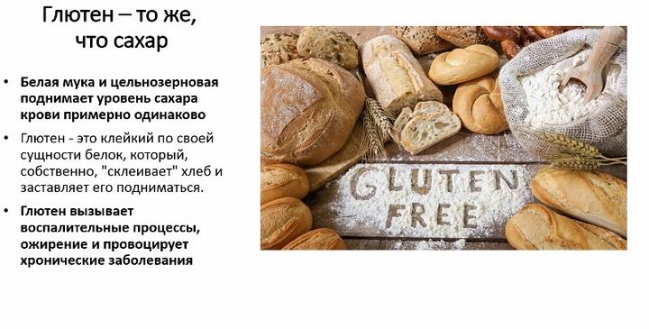 Глютен: в каких продуктах содержится, польза и вред, непереносимость и аллергия