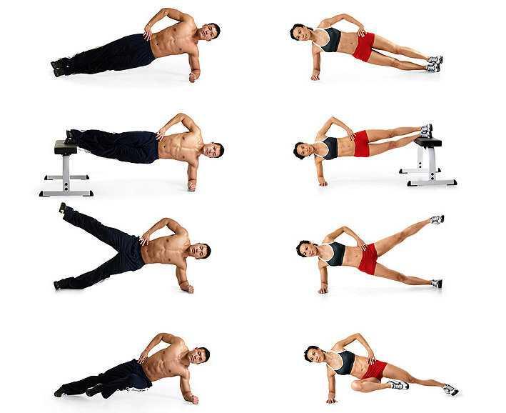 Упражнения для быстрого похудения живота и боков — похудение