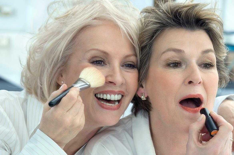 Лифтинг-макияж, или как накраситься, чтобы выглядеть моложе