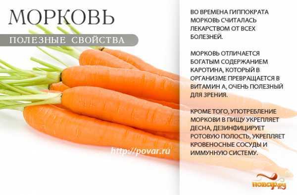 Полезна ли морковь для зрения и как ее лучше употреблять?