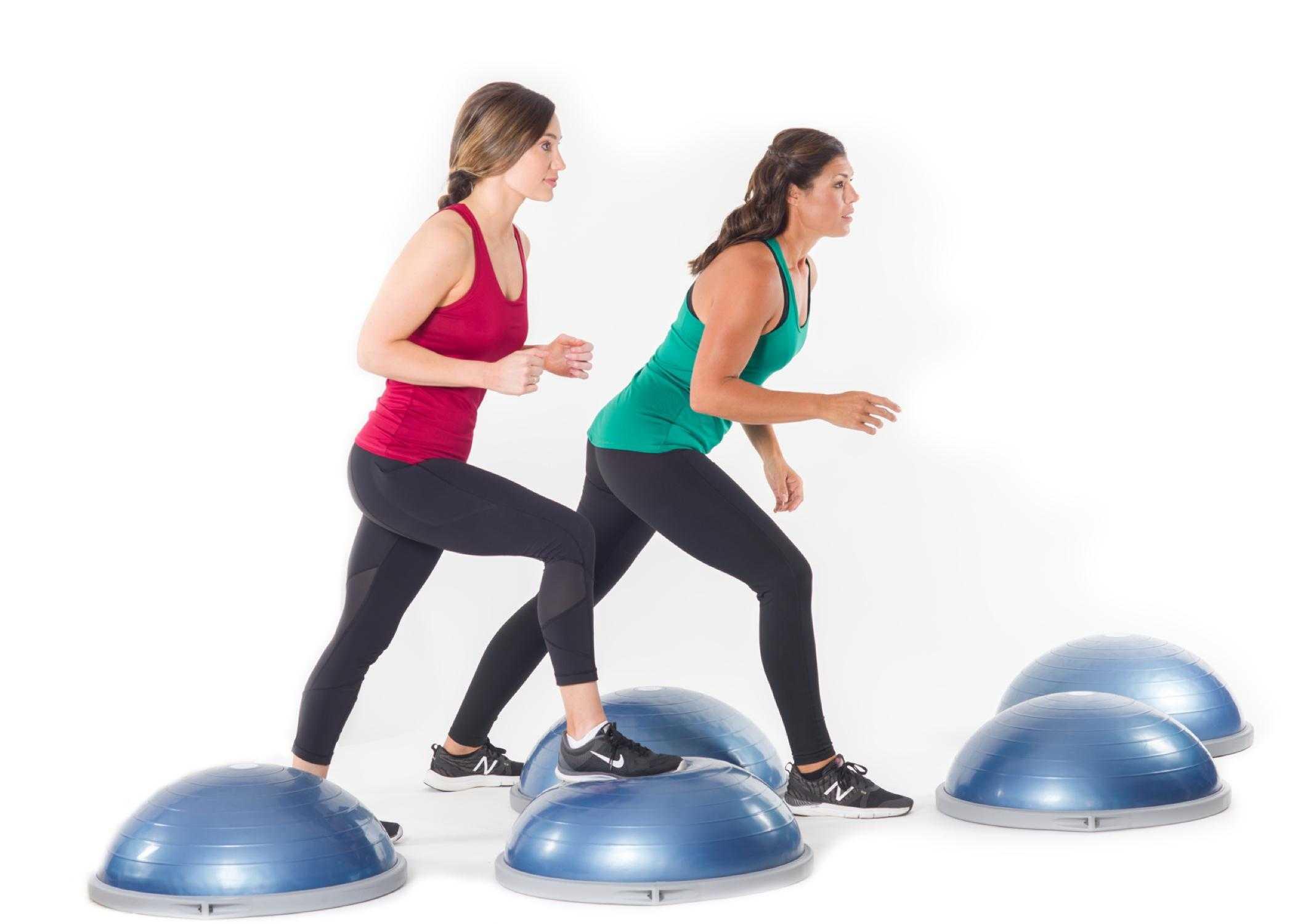 Самые эффективные упражнения на полусфере bosu