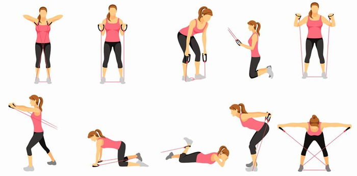 Как убрать складки на спине в короткие сроки дома: лучшие упражнения
