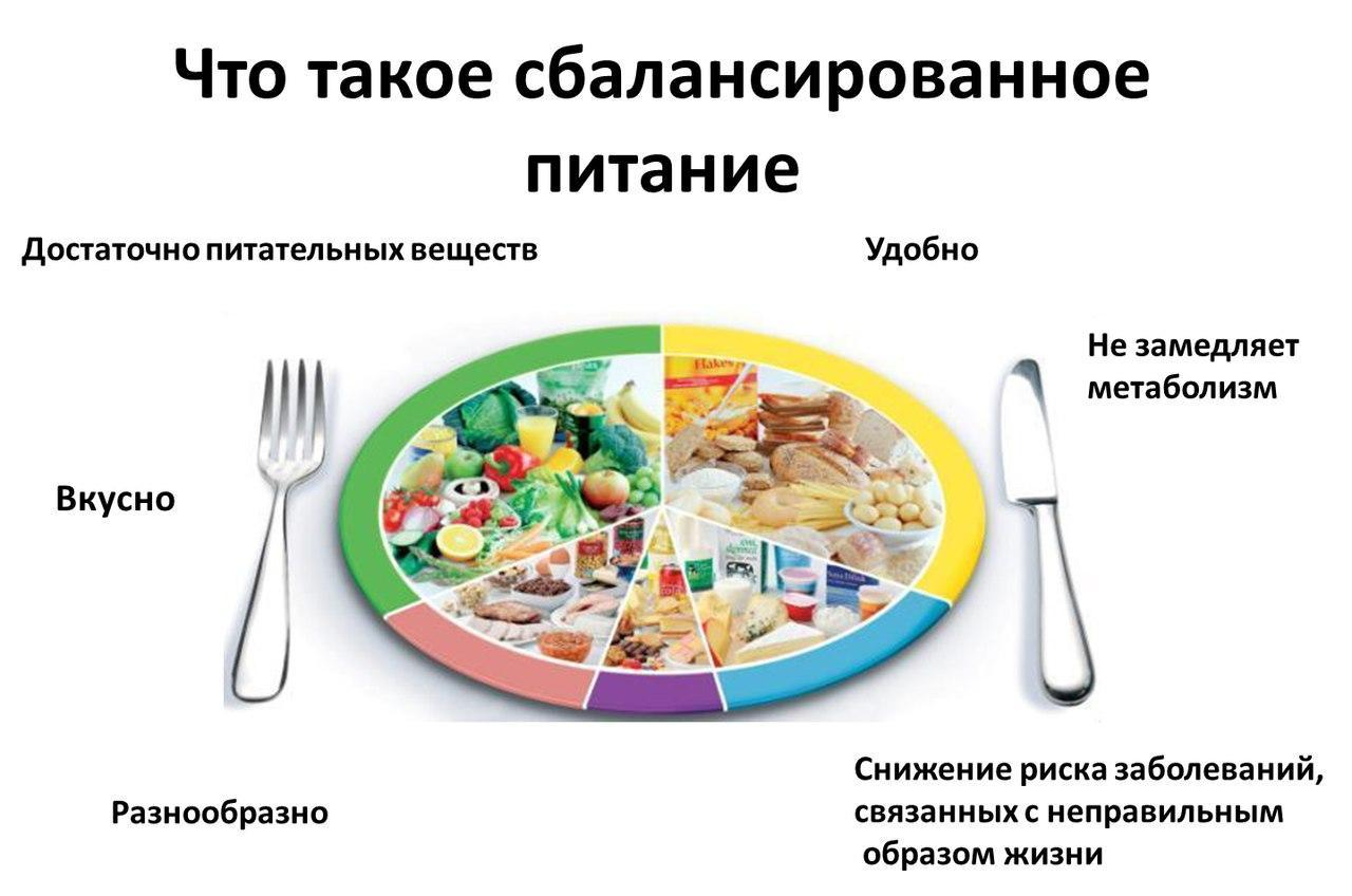 Сбалансированная диета для похудения на месяц: меню питания
