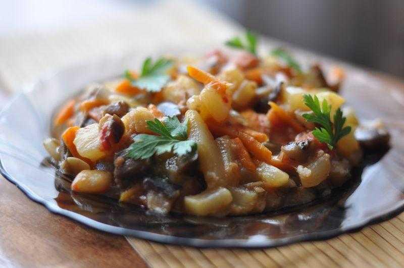 Пошаговый рецепт приготовлени рыбного рагу с овощами (фото)