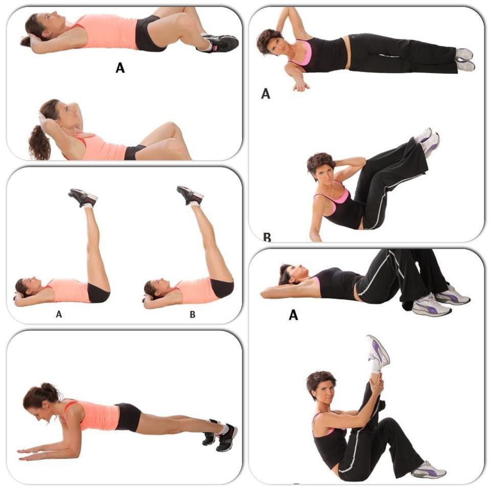 7 простых и эффективных упражнений для пресса - лайфхакер