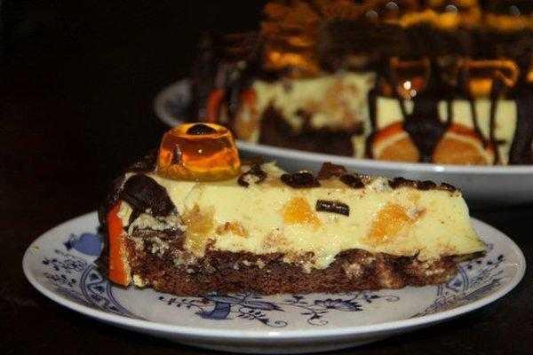 Праздничные десерты с апельсинами: рецепты, фото