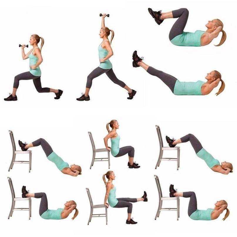 Фитнес дома для начинающих для похудения