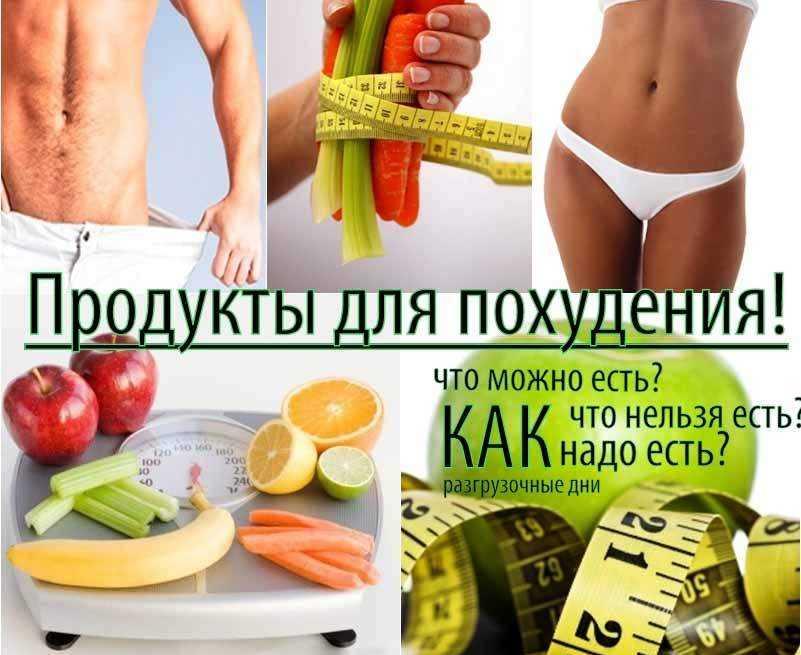 Принципы правильного питания для похудения - меню для правильного похудения