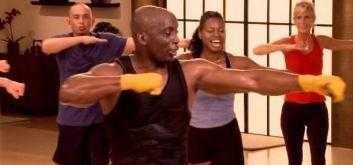 Тренировка с джанет дженкинс с фитболом: как сделать плоским живот и сжечь жир