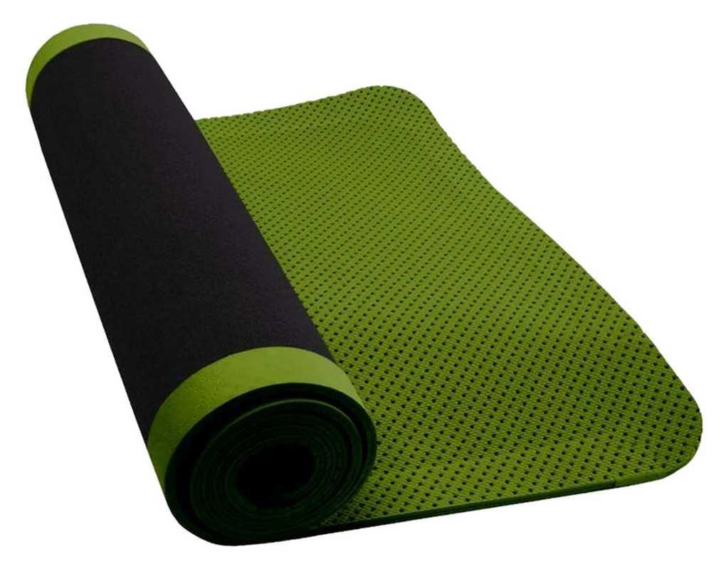 Как выбрать качественный коврик для фитнеса и йоги?