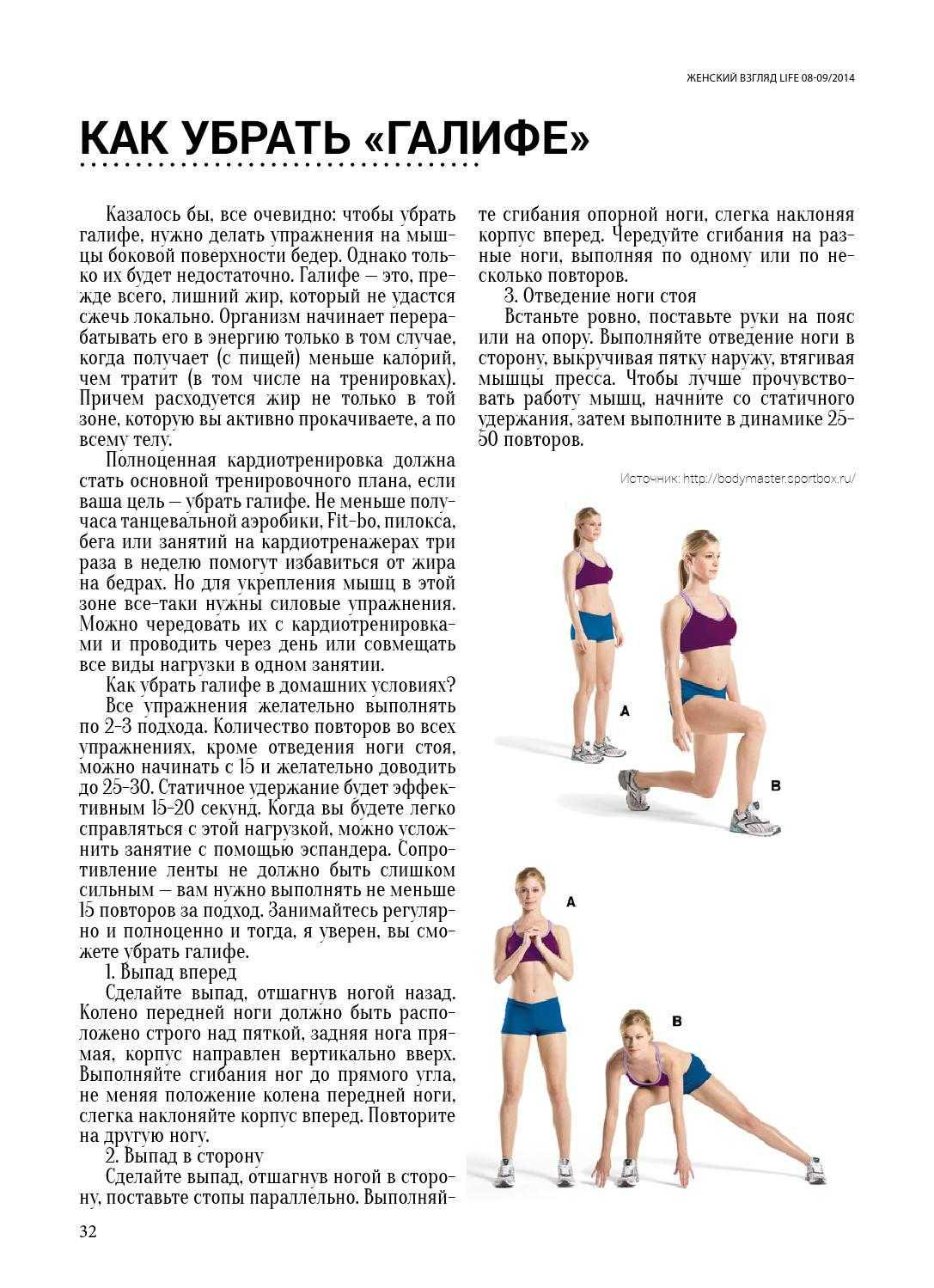 9 статических упражнений для ног, ягодиц и бедер: похудение и