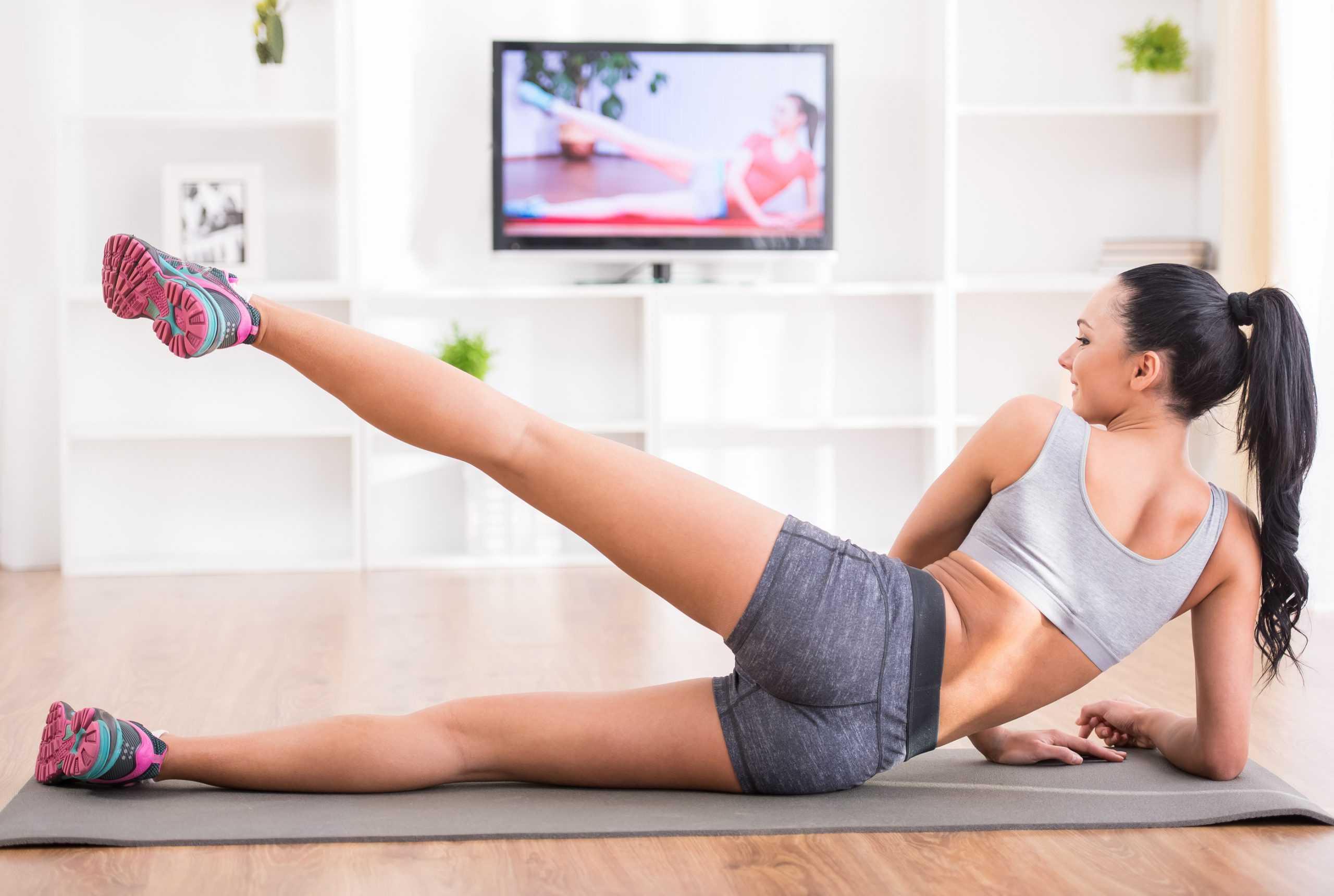Простые и эффективные упражнения для похудения в домашних условиях
