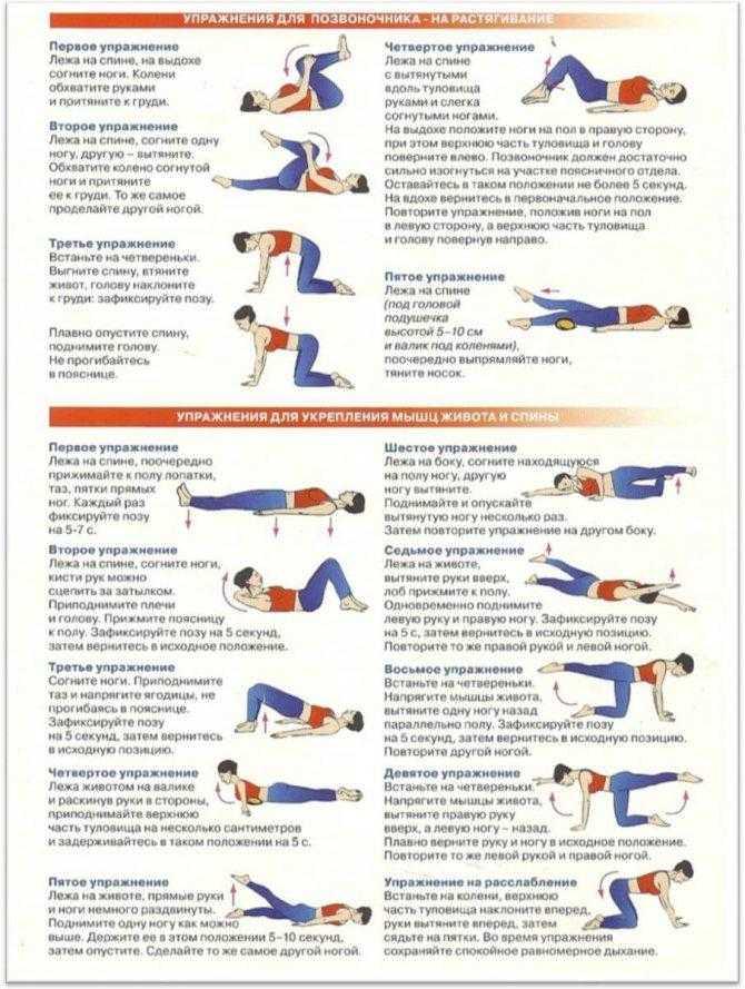 Гимнастика при шейном остеохондрозе - комплексы упражнений