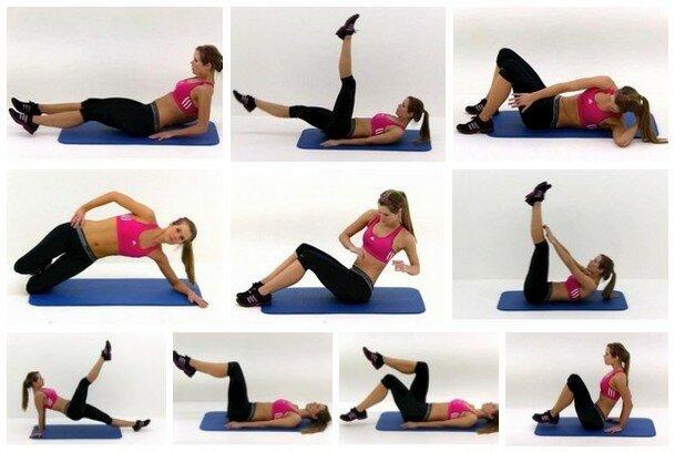 Как убрать складки на спине: причины появления жира под лопатками и упражнения в домашних условиях