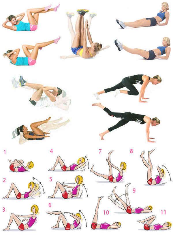 Упражнения для похудения живота и боков: эффективные способы убрать жир и похудеть