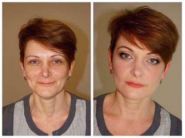 Возрастной макияж пошагово - she-win