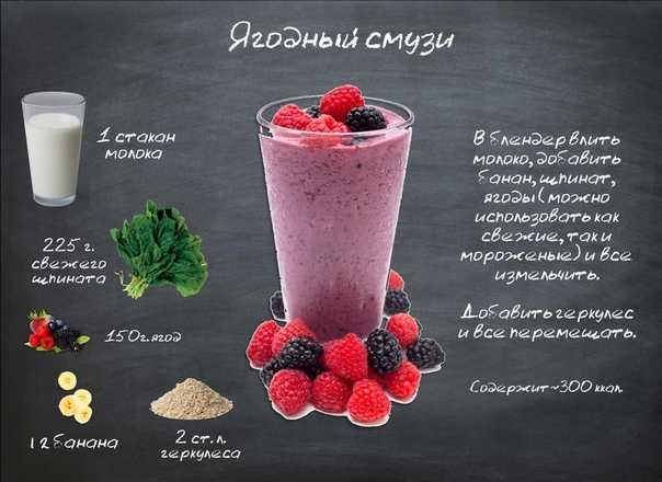 Смузи для похудения: домашние рецепты - allslim.ru