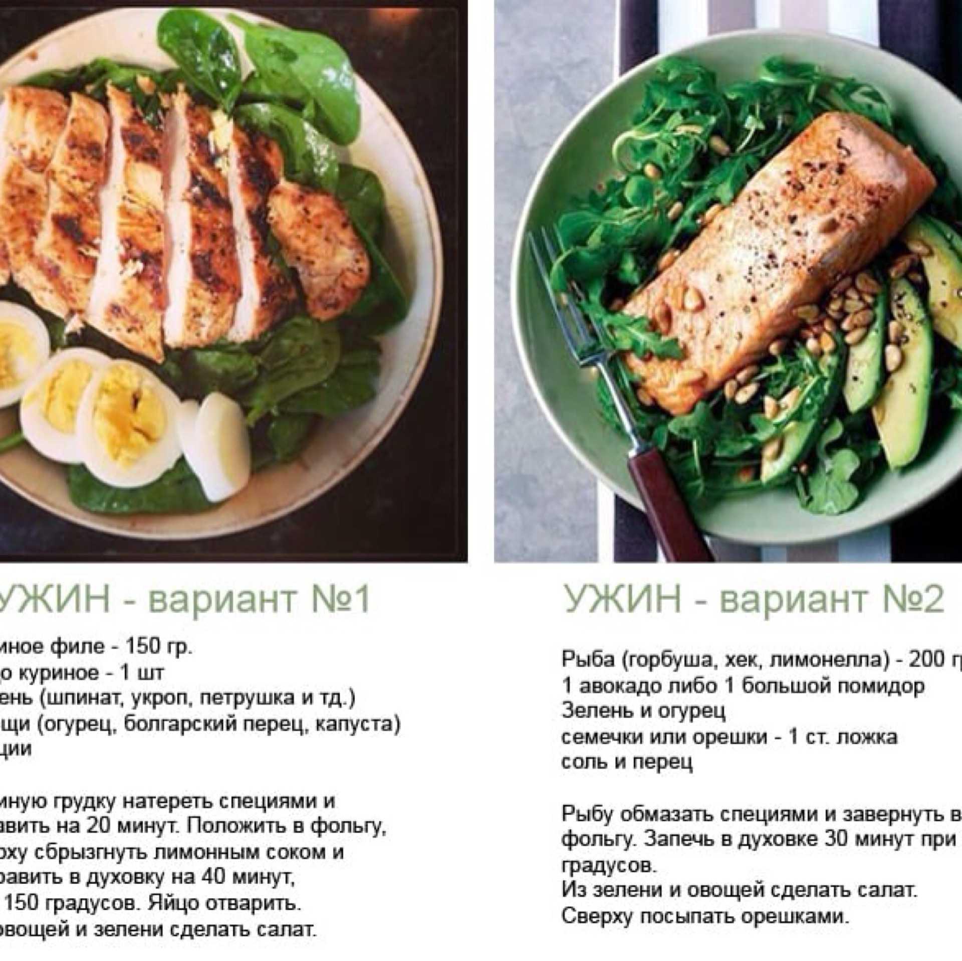 Самые эффективные белковые диеты минус 6 кг за 7 дней: простое меню на неделю, на каждый день