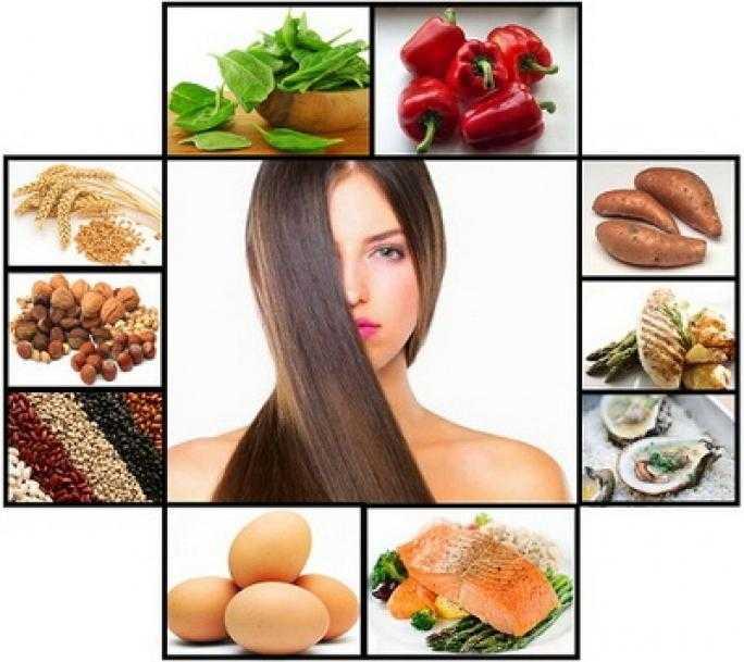 Какие продукты полезны для волос?