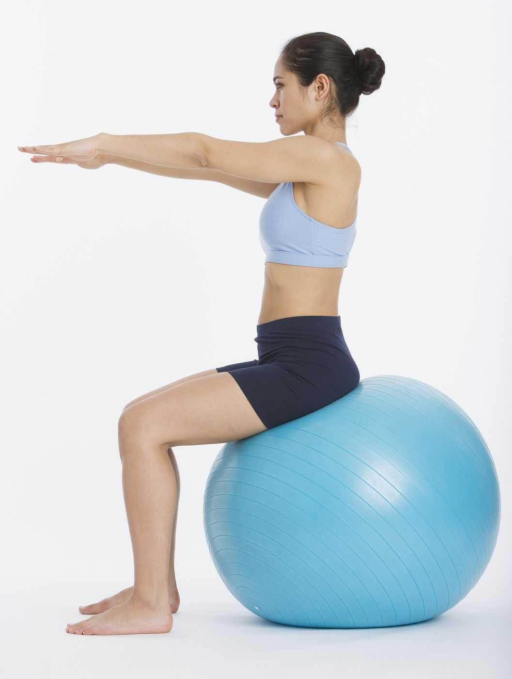 Комплекс упражнений на фитболе | бомба тело