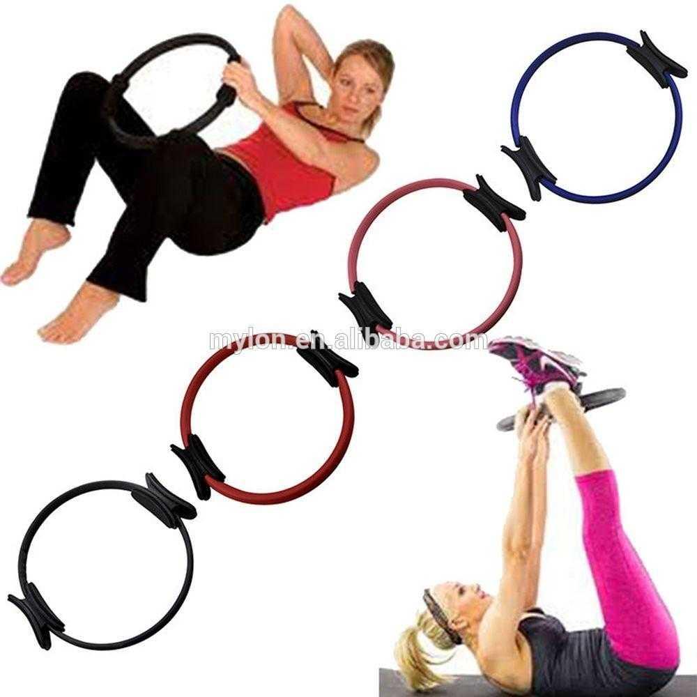 Как выбрать обруч для пилатеса Как пользоваться изотоническим кольцом Комплекс упражнений для рук и плеч, бедер и ягодиц, груди и спины, а также пресса
