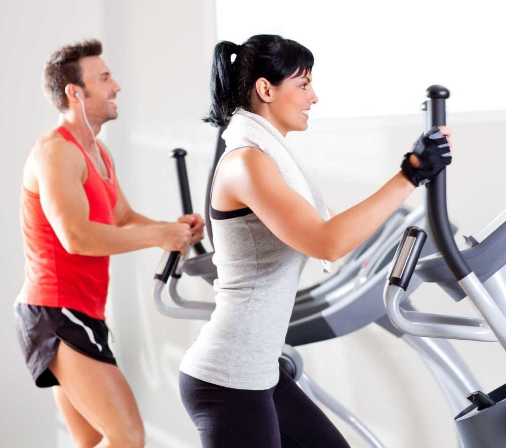 Эллиптический тренажер – какие мышцы работают