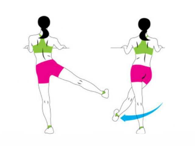 Махи ногами – комплексная тренировка бедер я ягодиц