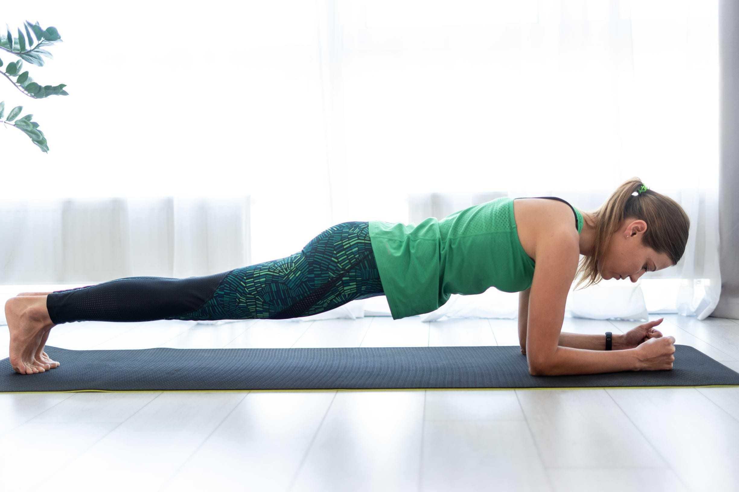 Комплекс для продолжающих, упражнения средней сложности