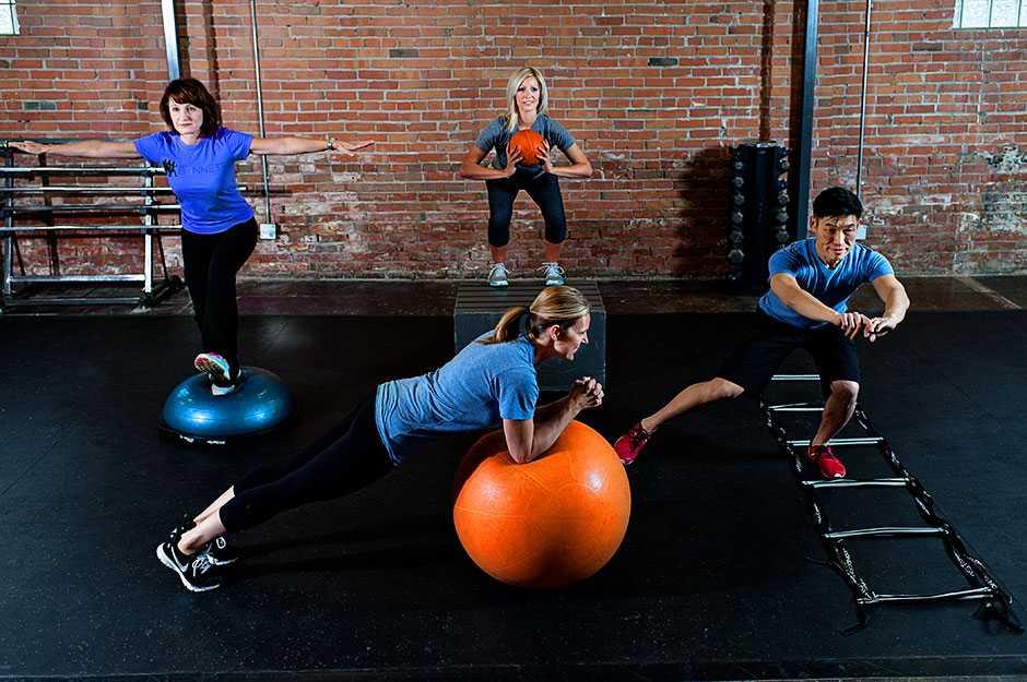 Силовые тренировки: программа «эстетическая атлетика»