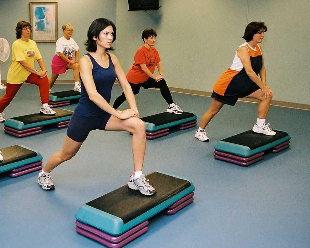 Аэробика для похудения – виды, польза и вред, базовый комплекс