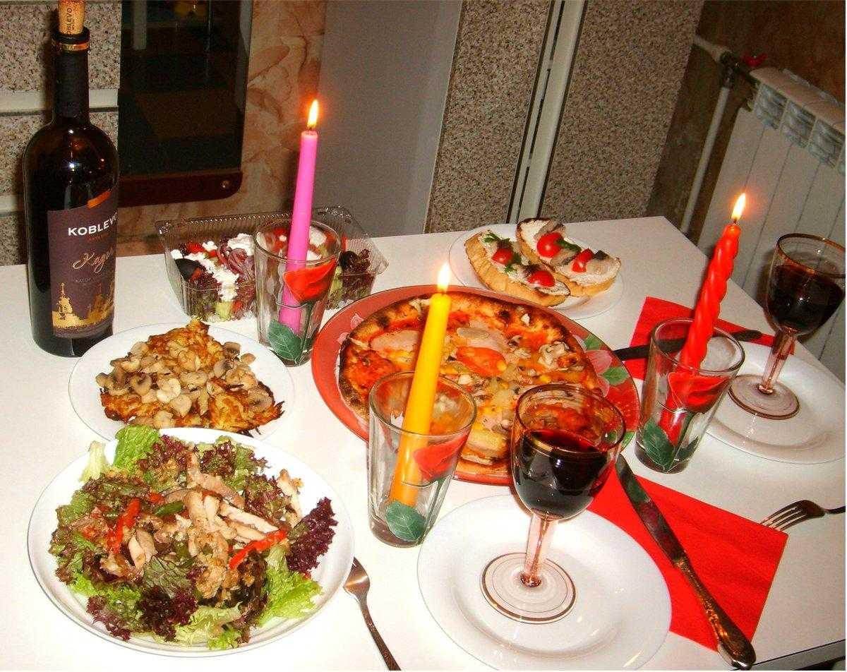 Что приготовить на романтический ужин для двоих: варианты меню и оригинальные рецепты