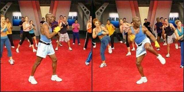 Тренировка от джанет дженкинс с фитболом для живота