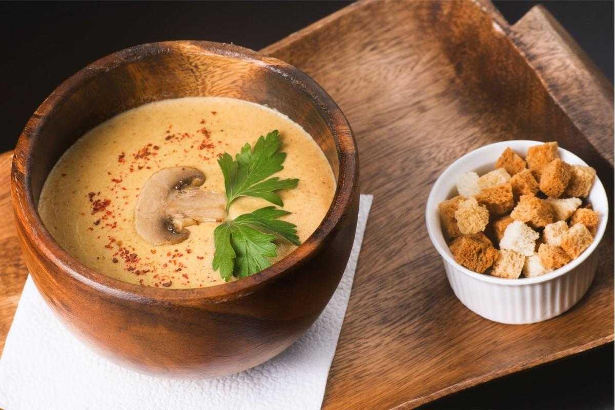 """Грибной крем-суп """"deja vu"""" – кулинарный рецепт"""