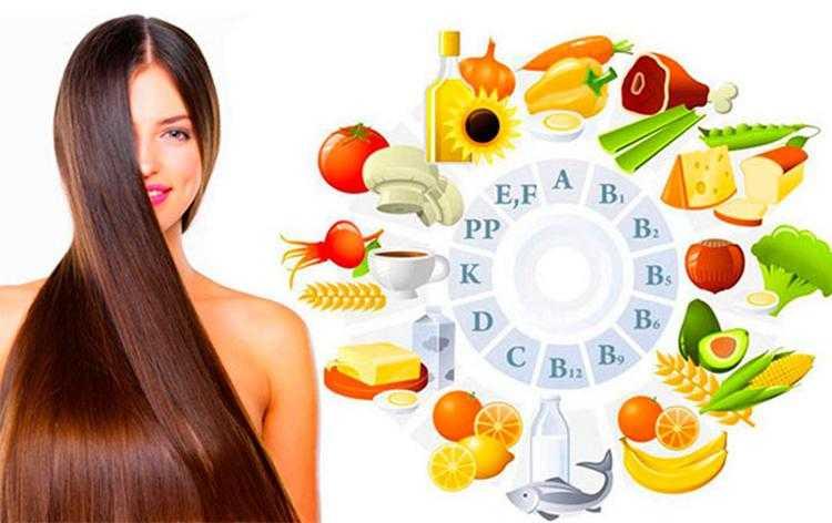 Полезные продукты и витамины для волос и ногтей