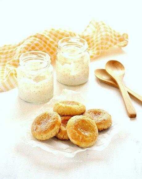 Печенье с мандариновым джемом – кулинарный рецепт