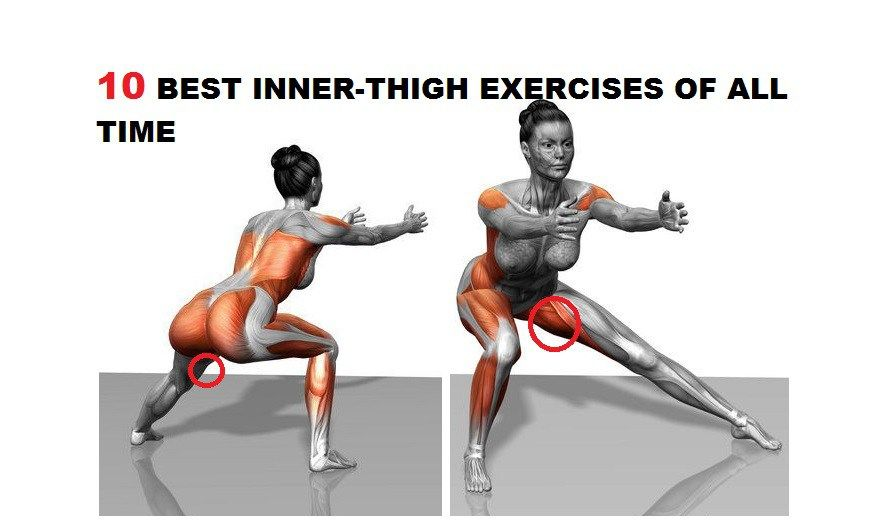 Лучшие упражнения для внешней поверхности бедра