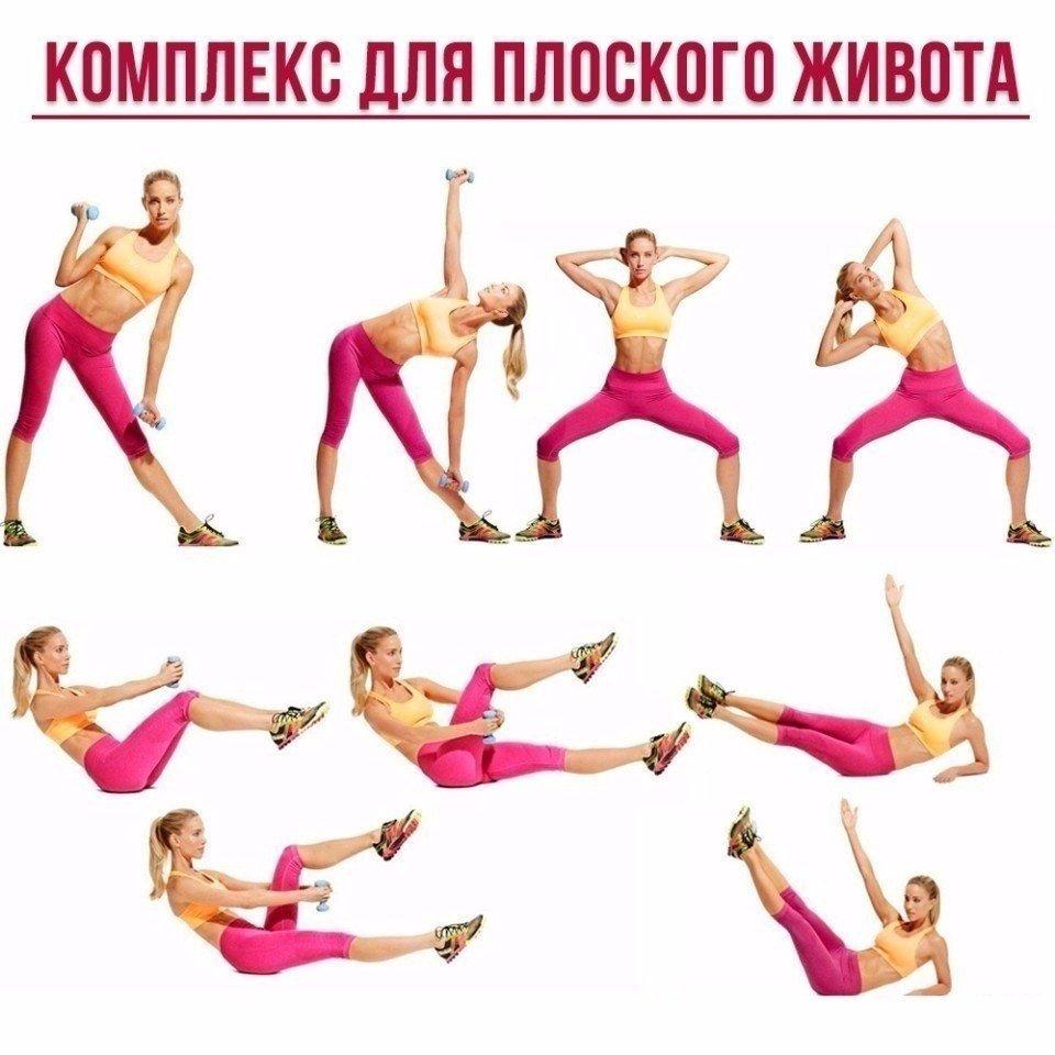 Упражнения для похудения живота, талии и боков - как похудеть быстро и эффективно в домашних условиях, видео