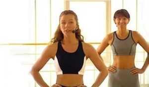 Упражнения для талии и бедер с валери турпин