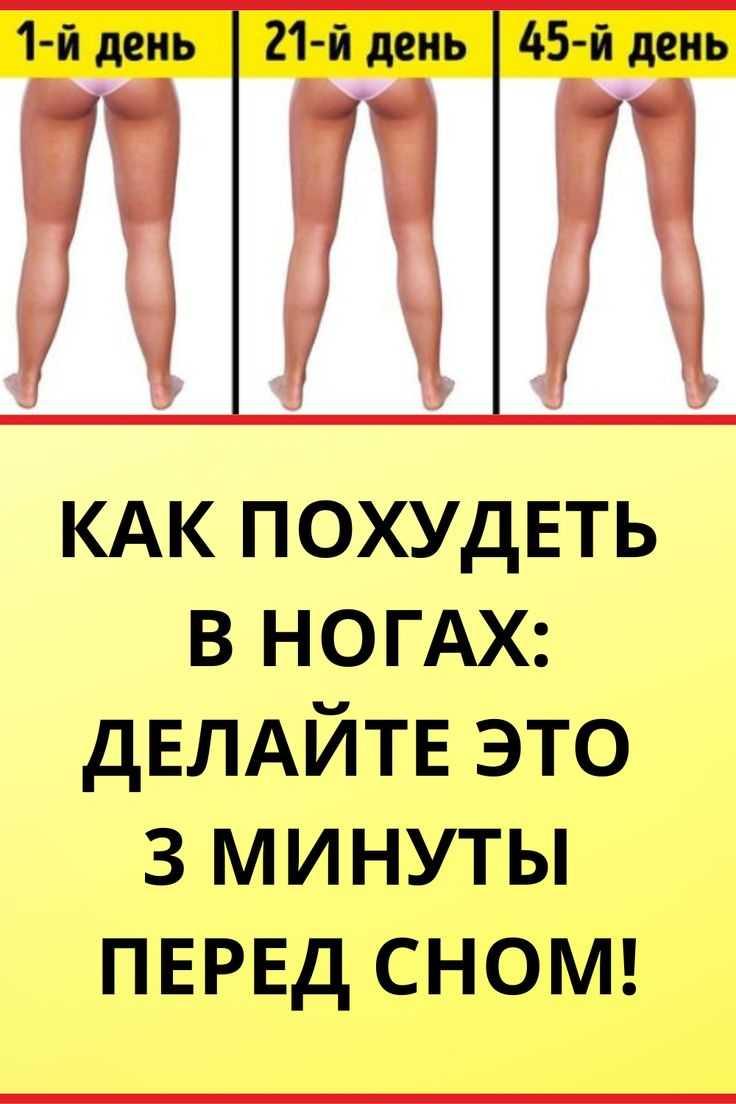 Как похудеть в ногах и бедрах за неделю не накачивая мышцы — быстрые и эффективные упражнения в домашних условиях
