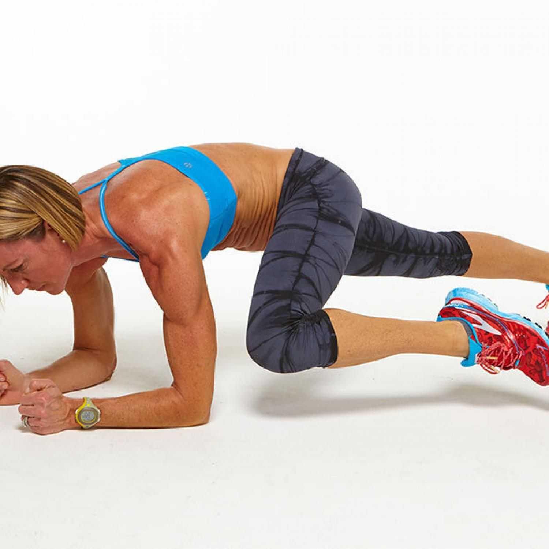 Упражнение скалолаз: как правильно делать