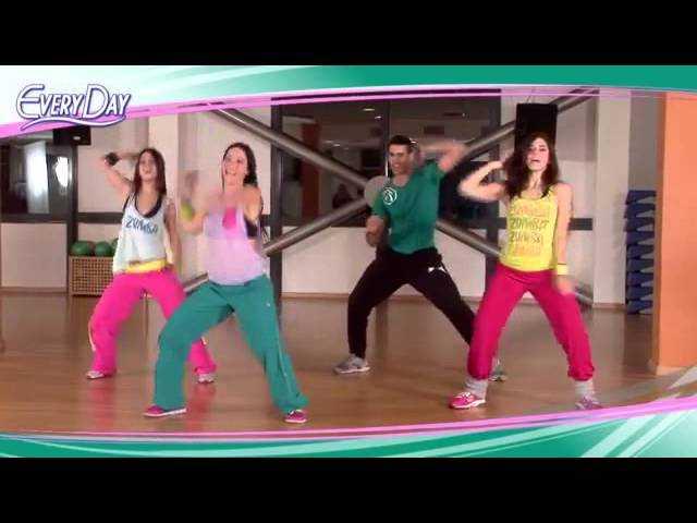 Зумба фитнес для похудения: видео упражнения | бомба тело